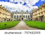 oxford  united kingdom   june...   Shutterstock . vector #757432555