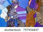 amphibolite rock under the...   Shutterstock . vector #757456837