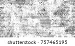 dark grunge background. black... | Shutterstock . vector #757465195