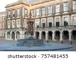 binnenhof palace  place of... | Shutterstock . vector #757481455