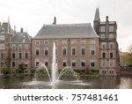 binnenhof palace  place of... | Shutterstock . vector #757481461