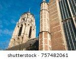 the laurenskerk  or church of... | Shutterstock . vector #757482061