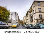 traditional architecture of... | Shutterstock . vector #757530469