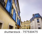 traditional architecture of... | Shutterstock . vector #757530475