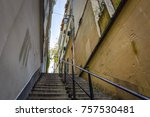 traditional architecture of... | Shutterstock . vector #757530481