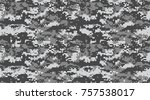 seamless pattern. abstract... | Shutterstock .eps vector #757538017