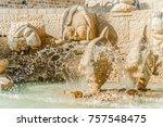 tel aviv jaffa israel  ... | Shutterstock . vector #757548475