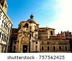 the venetian architecture | Shutterstock . vector #757562425