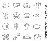 Set Of Race Related Vector Lin...