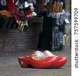 Red Clogs In Haarlem Street ...