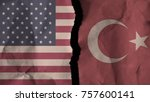 flag of the united states of...   Shutterstock . vector #757600141