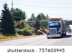 blue classic american bonnet...   Shutterstock . vector #757603945