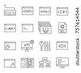 set of application development...