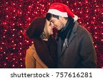 beautiful young couple in love...   Shutterstock . vector #757616281