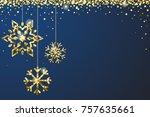 Gold Blue Sparkle Ornaments...