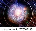 central design series.... | Shutterstock . vector #757643185