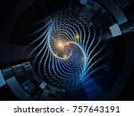 central design series. design... | Shutterstock . vector #757643191