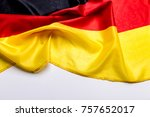 authentic flag of the germany | Shutterstock . vector #757652017
