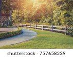 wooden fence beside pathway