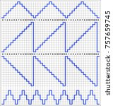 staircase output waveforms