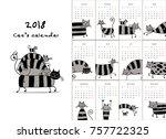 Funny Striped Cats. Design...