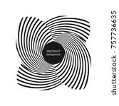 abstract halftone creative... | Shutterstock .eps vector #757736635
