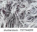 pile long warm close up ... | Shutterstock . vector #757744099