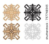 classical baroque vector set of ...