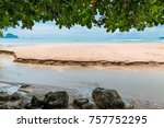 a cozy shady place where the... | Shutterstock . vector #757752295