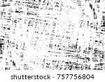 grunge black and white seamless ... | Shutterstock . vector #757756804