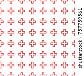 abstract seamless pattern with... | Shutterstock .eps vector #757759561