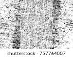 grunge black and white seamless ... | Shutterstock . vector #757764007