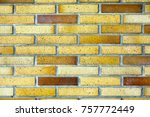 close up of brick wall as... | Shutterstock . vector #757772449