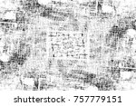 grunge black and white seamless ... | Shutterstock . vector #757779151