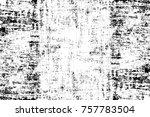 grunge black and white seamless ... | Shutterstock . vector #757783504