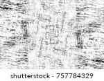 grunge black and white seamless ... | Shutterstock . vector #757784329
