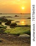 Sunrise On Rocky Beach  Co...