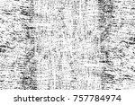 grunge black and white seamless ... | Shutterstock . vector #757784974