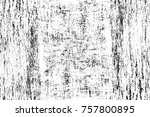 grunge black and white seamless ... | Shutterstock . vector #757800895