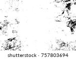 grunge black and white seamless ... | Shutterstock . vector #757803694