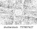 grunge black and white seamless ... | Shutterstock . vector #757807627