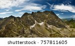 view of swinica mountain in... | Shutterstock . vector #757811605