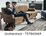 looking into your heart.... | Shutterstock . vector #757863469