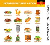 german annual oktoberfest...   Shutterstock . vector #757869601