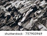 surface of the stone for... | Shutterstock . vector #757903969