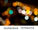multi colored christmas and... | Shutterstock . vector #757944715