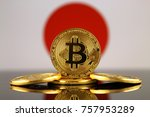 physical version of bitcoin ... | Shutterstock . vector #757953289