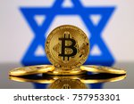 physical version of bitcoin ... | Shutterstock . vector #757953301