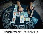 science of prophecy | Shutterstock . vector #758049115