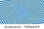 swirling radial background | Shutterstock .eps vector #758066029